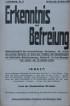 1. Jg. Nr. 2 1918