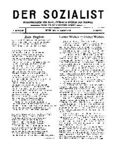 01. Jahrgang 1909