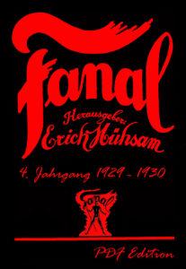 Fanal 4. Jahrgang 1929/30