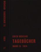 Erich Mühsam Tagebücher 15. 1924