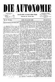 02. Jg. Nr. 010 / 12.03.1887 Die Autonomie London