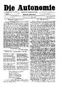06. Jg. Nr. 115 / 03.01.1891 Die Autonomie London
