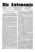 06. Jg. Nr. 117 / 17.01.1891 Die Autonomie London