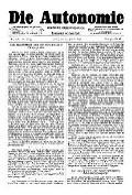 06. Jg. Nr. 118 / 24.01.1891 Die Autonomie London