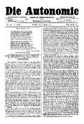 06. Jg. Nr. 120 / 07.02.1891 Die Autonomie London