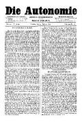 06. Jg. Nr. 121 / 14.02.1891 Die Autonomie London