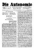 06. Jg. Nr. 128 / 04.04.1891 Die Autonomie London