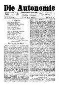 06. Jg. Nr. 129 / 11.04.1891 Die Autonomie London