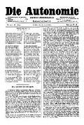 06. Jg. Nr. 130 / 18.04.1891 Die Autonomie London