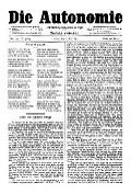 06. Jg. Nr. 132 / 02.05.1891 Die Autonomie London