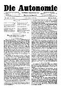 06. Jg. Nr. 136 / 30.05.1891 Die Autonomie London