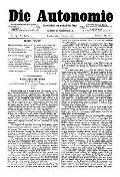 06. Jg. Nr. 145 / 01.08.1891 Die Autonomie London