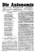 06. Jg. Nr. 153 / 26.09.1891 Die Autonomie London