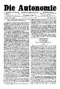 07. Jg. Nr. 169 / 16.01.1892 Die Autonomie London