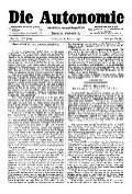 07. Jg. Nr. 172 / 06.02.1892 Die Autonomie London