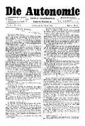07. Jg. Nr. 173 / 13.02.1892 Die Autonomie London