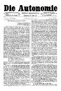 07. Jg. Nr. 176 / 05.03.1892 Die Autonomie London