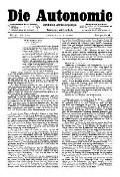 07. Jg. Nr. 178 / 19.03.1892 Die Autonomie London