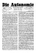 07. Jg. Nr. 179 / 26.03.1892 Die Autonomie London