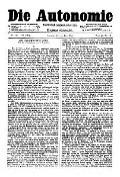 07. Jg. Nr. 191 / 25.06.1892 Die Autonomie London