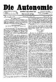 08. Jg. Nr. 211 / 22.04.1893 Die Autonomie London